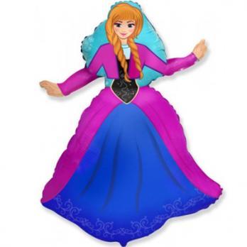 "Шар фигура фольга ""Принцесса Алина"""