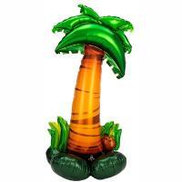 Шар фигура фольга Пальма