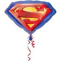 Шар фигура фольга Супермен эмблема