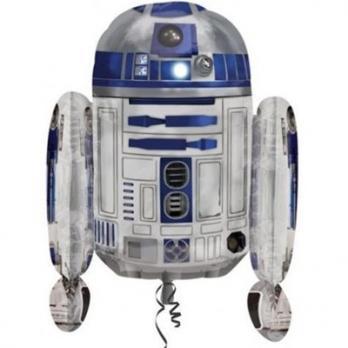 """Шар фигура фольга """"Звездные Войны R2D2"""""""