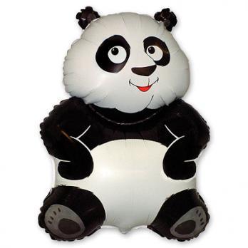 Шар фигура фольга Панда