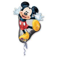 Шар фигура фольга Микки танцующий