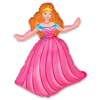 "Шар фигура фольга ""Принцесса"""