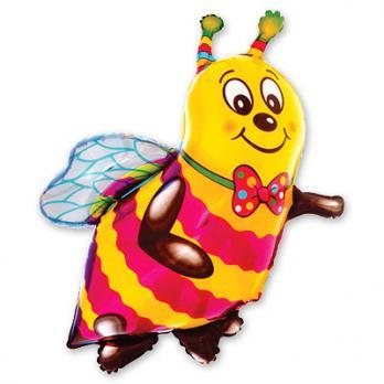 Шар фигура фольга Пчела