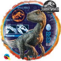 Шар круг фольга Парк Юрского Периода Динозавр