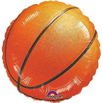 """Шар круг фольга """"Баскетбольный мяч"""""""
