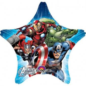 Шар круг Мстители звезда