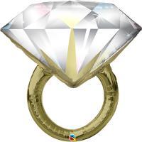 Шар фольгированный Кольцо с бриллиантом