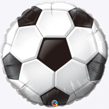 Шар фигура фольга Мяч футбольный