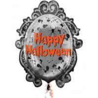 Шар круг фольга Зеркало Хэллоуин