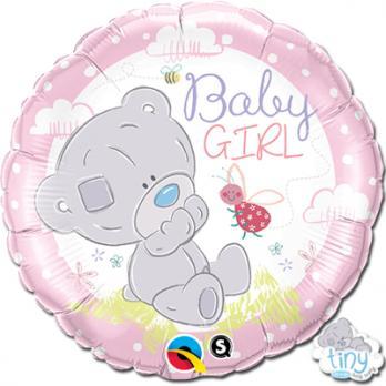 "Шар круг фольга ""Me To You Tiny Малышка розовый"""