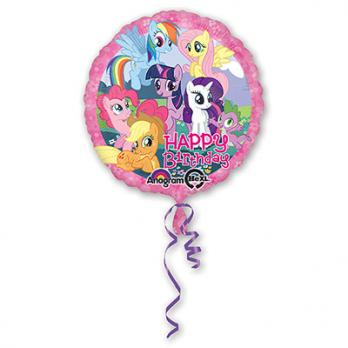 "Шар круг фольга ""HB My Little Pony"""