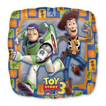 Шар квадрат фольга История игрушек