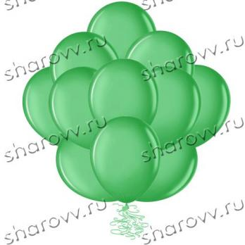 Шары пастель 35см. Зеленые