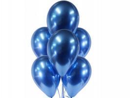 Шары латекс Хром синий