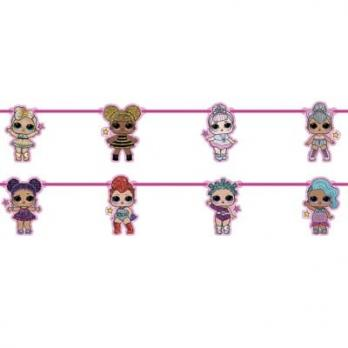 Гирлянда Куклы ЛОЛ 2,3м
