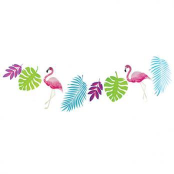 Гирлянда Фламинго 300см