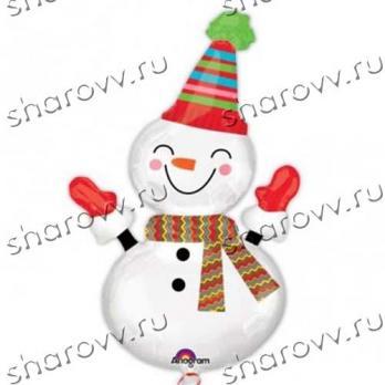 Улыбчивый снеговик