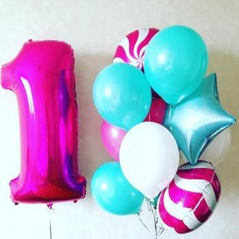 Сет воздушных шаров Сладкий день