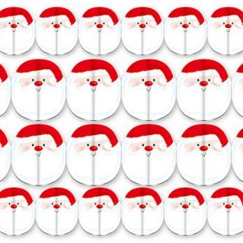 Гирлянда Дед Мороз 15х240см