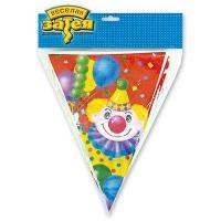 Гирлянда-вымп Клоун с шарами 360см