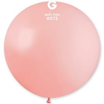 Шар большой 90см. розовый светлый