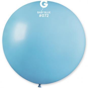 Шар большой 90см. голубой светлый