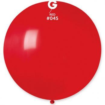 Шар большой 90см. красный