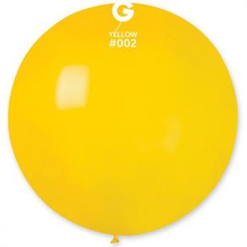 Шар большой 90см. желтый