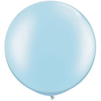 Шар большой 60см. Металлик Голубой