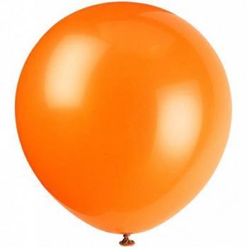 Шар большой 60см. Пастель Оранжевый