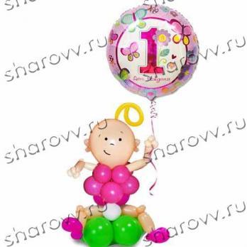 "Фигура из шариков ""Малышка"""