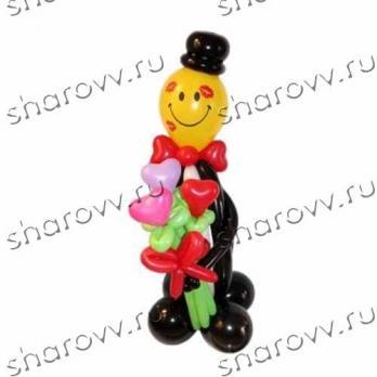 """Фигура из шариков """"Mr Love"""""""