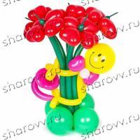"""Фигура из шаров Mr Смайл"""""""