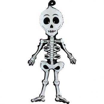 "Шар фольга ""Скелет"" 73см."
