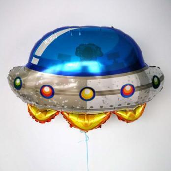 Шар фольга НЛО Летающая тарелка