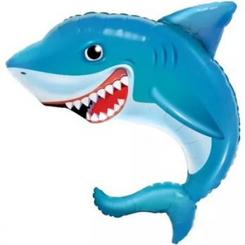 Шар фольга Акула