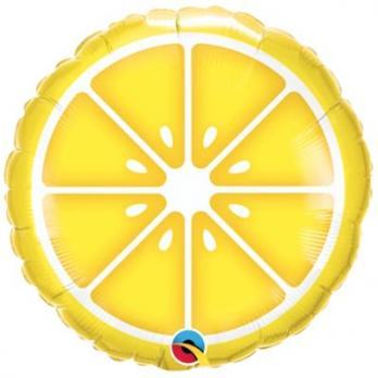 Шар фольга Лимон дольки