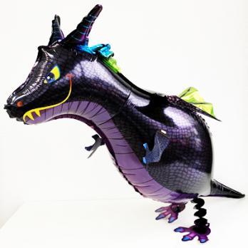 "Ходячий шар Дракон фиолетовый"""