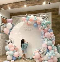 Фотозона из шариков Нежность