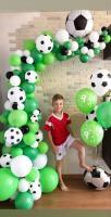 Фотозона из шариков Футбольная