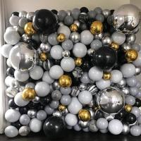 Фотозона из шариков Стена с агатами