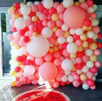 """Фотозона из шаров """"Bubble gum"""""""