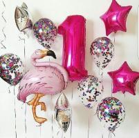 Сет из шариков День рождения малышки