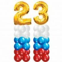 Украшение из воздушных шариков - стойки 23