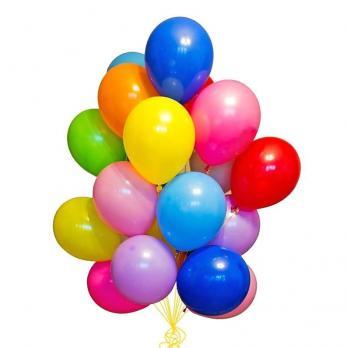 20 воздушных шаров с обработкой