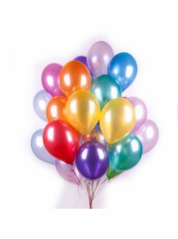 20 воздушных шаров metallik с обработкой