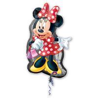 Фольгированный воздушный шар Танцующая Минни