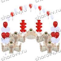 Пакет шаров Свадебный