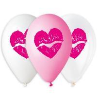 Шары латекс Поцелуй сердце